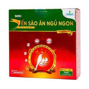 Siro Yến Sào Ăn Ngủ Ngon Happy Healthy Ống 10Ml