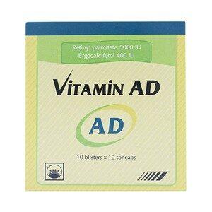 Vitamin Ad 10X10 Pymepharco