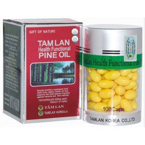 Viên Dầu Thông Đỏ Tamlan Health Functional Pine Oil 100 Viên