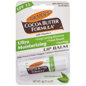 Palmer's Lip Balm Spf 15 Dark Chocolate&mint 4G