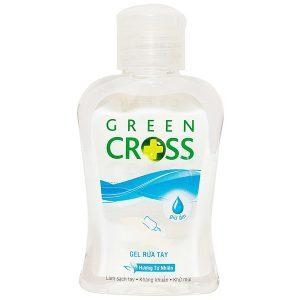 Gel Rửa Tay Green Cross Hương Tự Nhiên Chai 100Ml