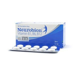 Neurobion Vitamin B1,b6,b12 5X10 Merck (Xanh)