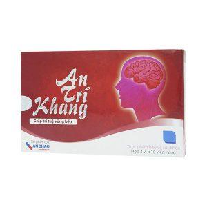 Viên Uống Hoạt Huyết Dưỡng Não An Trí Khang Anchau Pharma 30 Viên