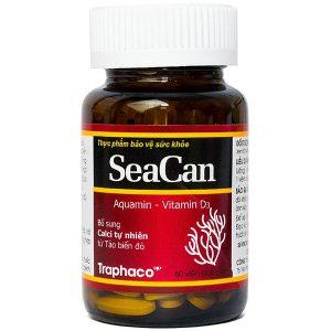 Viên Uống Bổ Sung Canxi Seacan Traphaco 60 Viên
