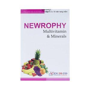 Vitamin Tổng Hợp Newrophy Indico 30 Viên