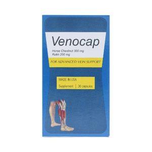 Viên Uống Ngăn Ngừa Suy Tĩnh Mạch Venocap Global Pharm 30 Viên