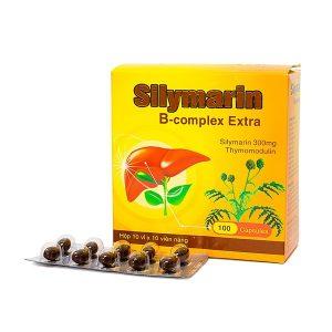 Viên Uống Tăng Cường Chức Năng Gan Silymarin B-Complex Extra 100 Viên