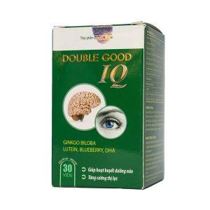 Viên Uống Dưỡng Não, Bổ Mắt Double Good Iq Nanofrance 30 Viên