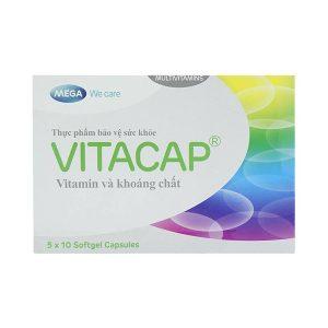 Viên Uống Bổ Sung Vitamin Và Khoáng Chất Mega Wecare Vitacap 50 Viên