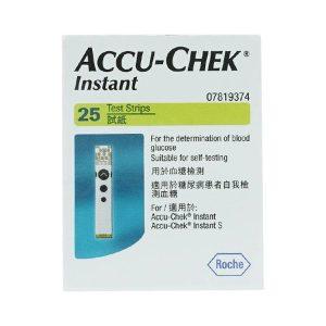 Accu Chek Instant 07819374020 25 Que Thử Dùng Trên Máy Đo Đường Huyết