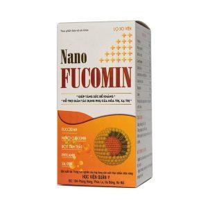 Thực Phẩm Bảo Vệ Sức Khỏe Nano Fucomin Học Viện Quân Y 30 Viên