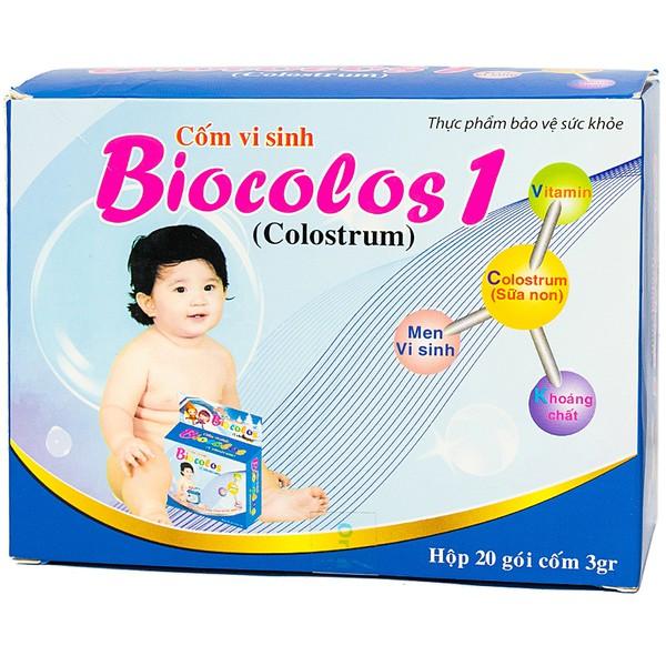 Cốm Vi Sinh Biocolos 1 Hưng Phát 20 Gói