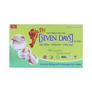 Viên Uống Giảm Cân Seven Days 36 Viên
