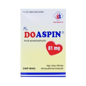 Doaspin 81Mg Domesco Lọ 100V