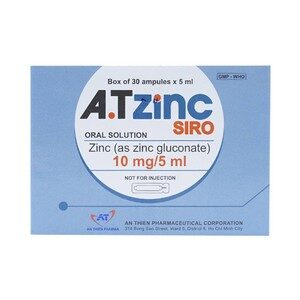 Siro Atzinc An Thiên 30 Ống X 5Ml