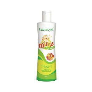 Sữa Tắm Gội Trẻ Em Lactacyd Milky For Baby 500Ml