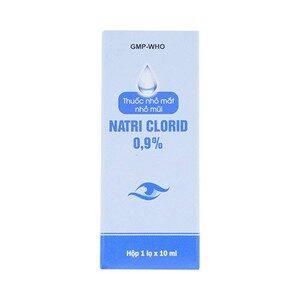 Natri Clorid 0.9% Gia Nguyễn 10Ml - Thuốc Nhỏ Mắt Mũi