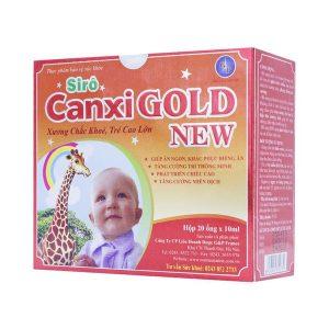 Siro Canxi Gold New Gp France 20 Ống X 10Ml