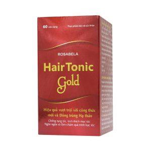 Viên Uống Chống Rụng Tóc Hair Tonic Gold Hadiphar 60 Viên