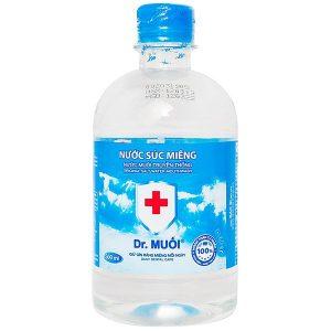 Dr.muối Ssm 500Ml - Nước Súc Miệng