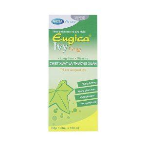 Siro Long Đờm, Giảm Ho Eugica Ivy Syrup Mega 100Ml