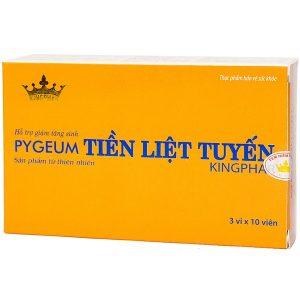 Viên Hỗ Trợ Giảm Tăng Sinh Tuyến Tiền Liệt Pygeum Kingphar 30 Viên