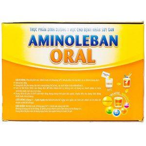 Thực Phẩm Dinh Dưỡng Cho Bệnh Nhân Suy Gan Aminoleban Oral 10 Gói X 50G
