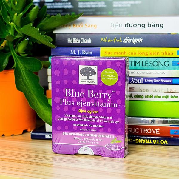 Viên Uống Bổ Mắt Blue Berry Plus Eye Vitamin New Nordic