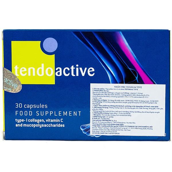 Viên Uống Tăng Cường Sức Khỏe Cho Gân Tendoactive Bioiberica 30 Viên