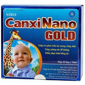 Siro Canxi Nano Gold 10Ml Gp 20 Ống