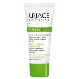 Uriage Eau Thermale Unclogging Skincare  40Ml-Kem Ngăn Ngừa Mụn, Điều Tiết Dầu Hyseac 18
