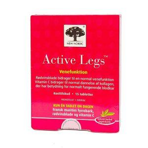 Viên Uống Hỗ Trợ Điều Trị Giãn Tĩnh Mạch New Nordic Active Legs 15 Viên