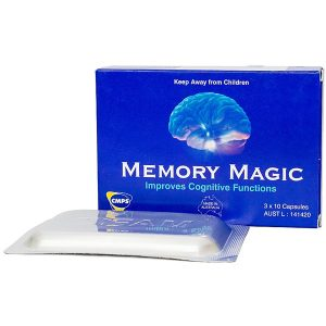 Viên Uống Hoạt Huyết, Bổ Não Memory Magic Cmps 30 Viên