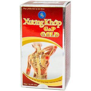 Viên Uống Giảm Đau Nhức Xương Khớp, Thoái Hóa Cột Sống Xương Khớp G&p Gold 60 Viên