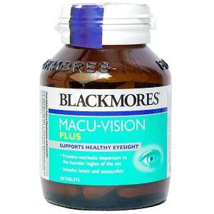 Viên Uống Bổ Mắt Macu-Vision Plus Blackmores 60 Viên