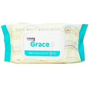 Khăn Giấy Ướt Grace Samjung 100 Tờ