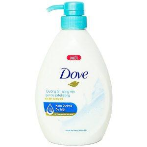 Sữa Tắm Dove Dưỡng Ẩm Sáng Mịn 530G