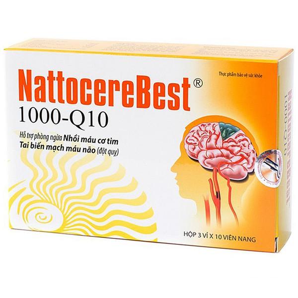 Viên Uống Bổ Não Trợ Tim Nattocerebest 1000-Q10