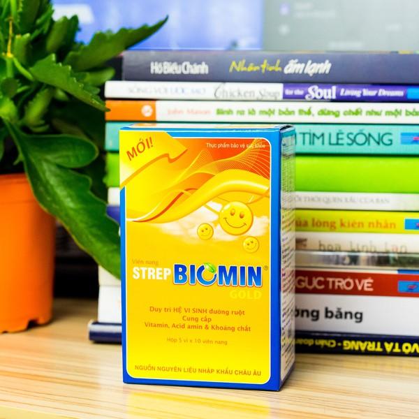Viên Uống Cân Bằng Hệ Vi Sinh Strep Biomin Gold Walgreen's Pharma
