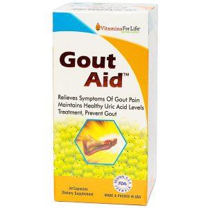Thực Phẩm Chức Năng Gout Aid Vitamins For Life 30 Viên