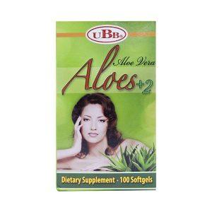 Thực Phẩm Chức Năng Đẹp Da Aloe Vera  Aloes 2+ Ubb 100 Viên