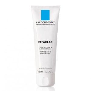 Sữa Rửa Mặt Ngừa Mụn, Se Khít Lỗ Chân Lông La Roche-Posay Effaclar Foaming Cream 125Ml