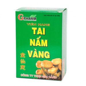 Tai Nấm Vàng - Giải Pháp Tăng Sức Đề Kháng Cho Gan