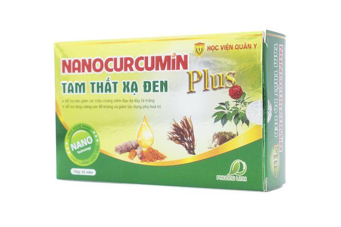 anocurcumin Plus Tam Thất Xạ Đen - Tạm biệt viêm dạ dày