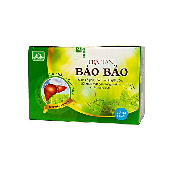 Trà Tan Bảo Bảo Hoa Linh 30 Túi X 5G