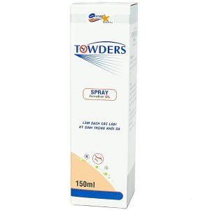 Towders Spray 100Ml Quang Xanh