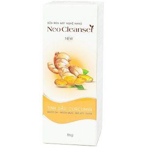 Sữa Rửa Mặt Nghệ Nano Ngừa Mụn Neo Cleanser 86G