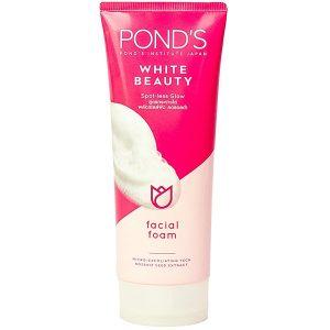 Sữa Rửa Mặt Trắng Hồng Rạng Rỡ Pond's White Beauty 100G