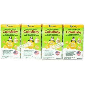 Sữa Vitadairy Colosbaby 110Ml 1 Lốc 4 Hộp