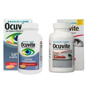 Thuốc bổ mắt Ocuvite Eye Vitamin & Mineral with Lutein 120 viên